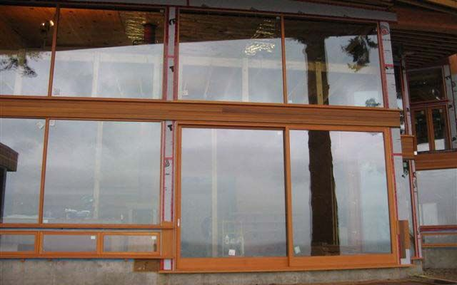 exterior glass sliding door