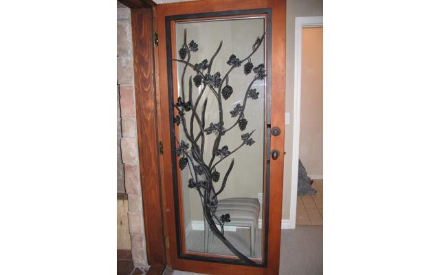 interior design glass door